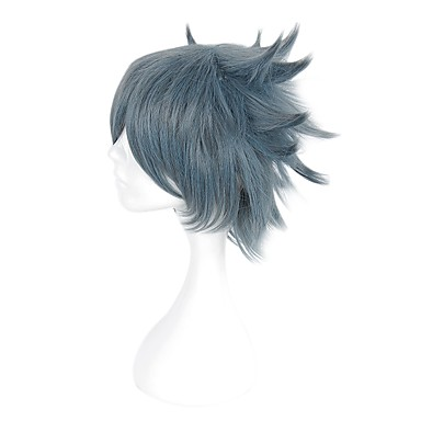 Cosplay Wigs Cosplay Cosplay Anime Cosplay Wigs 35cm CM Heat Resistant Fiber Men's Women's