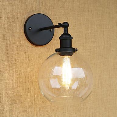 قديم / رجعي / زهري مصابيح الحائط معدن إضاءة الحائط 110-120V / 220-240V 40W / E26 / E27