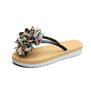 Damen Sandalen Komfort Sommer Gummi Walking Schnalle Block Ferse Weiß Schwarz Blau Unter 2,5 cm