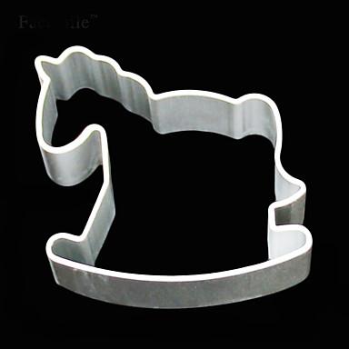 Aluminum Mold Trojans Shape Fondant Cake Decorative tools 3D Pastry Cookie Cutter Biscuit mould