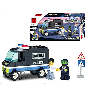 ENLIGHTEN Játékautók / Építőkockák Autó Rendőrautó Fiú Ajándék