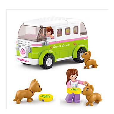 Építőkockák / Építőkocka minifigurák / Szerepjátékok Kastély / Autó / Ház Állatok Lány Ajándék