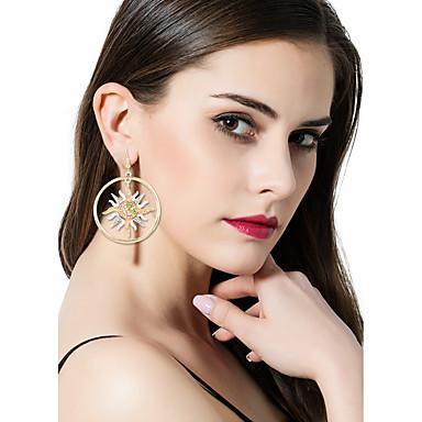 Női Luxus / Eltérés / Bikini Mások / Nap Strassz Strassz Rendhagyó fülbevalók - Luxus / Eltérés / Nyilatkozat Arany Szabálytalan Fülbevaló