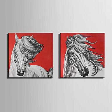 Mintás vászon Két elem Vászon Négyzet Nyomtatás fali dekoráció lakberendezési