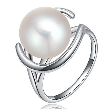 Damen Bandringe Imitierte Perlen Personalisiert Luxus Klassisch Grundlegend Rock nette Art Elegant Modisch Hip-Hop Künstliche Perle