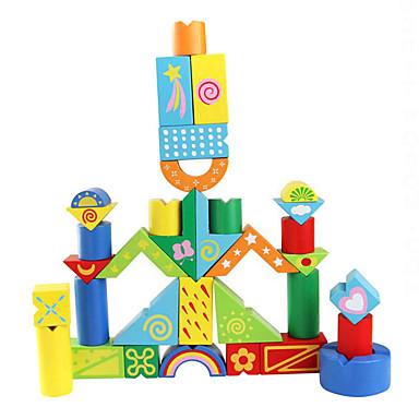 Építőkockák Fejlesztő játék Derékszögű Fun & Whimsical Lány Fiú Játékok Ajándék