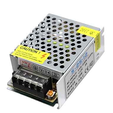 Hkv® 1pcs Mini-Größe führte Schaltnetzteil 12v 2a 25w Beleuchtung Transformator Netzteil ac100v 110v 127v 220v zu dc12v LED-Treiber