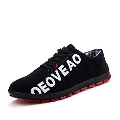 للرجال أحذية قماش ربيع / خريف مريح أحذية رياضية أخضر / أزرق / بورجوندي