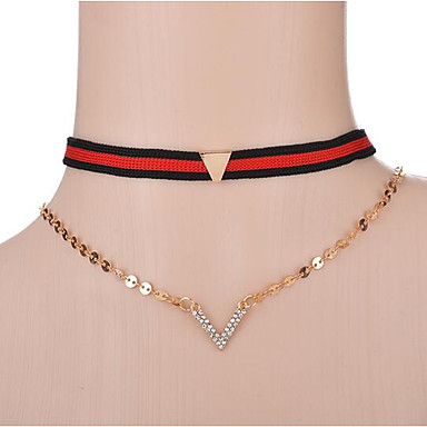 Női Rövid nyakláncok / Y-nyakláncok - minimalista stílusú Arany Nyakláncok Kompatibilitás Ajándék / Napi / Hétköznapi