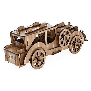 voordelige 3D-puzzels-3D-puzzels Legpuzzel Houten modellen Automatisch Puinen Natuurlijk Hout Kinderen Unisex Speeltjes Geschenk