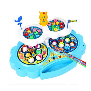 Magnetspielsachen Angeln Spielzeug Bildungsspielsachen Fische Magnetisch Kunststoff Kinder Geschenk 1pcs