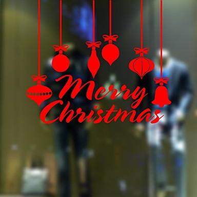 Dekorative Wand Sticker - Flugzeug-Wand Sticker Romantik / Weihnachten / Feiertage Esszimmer / Studierzimmer / Büro / Shops / Cafés