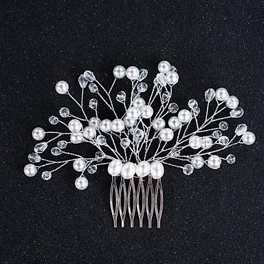 Künstliche Perle Aleación Haarkämme 1 Hochzeit Besondere Anlässe Geburtstag Kopfschmuck