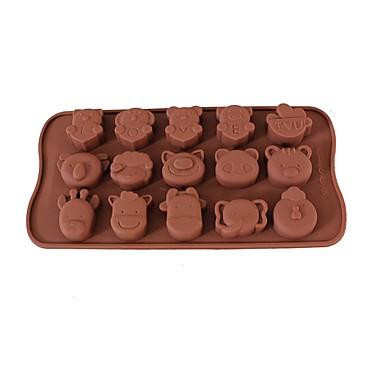 2 Stück Kuchenformen Neuheit Für Kochutensilien Für Brot Für Schokolade Für KuchenBacken-Werkzeug 3D Gute Qualität Kreative Küche Gadget