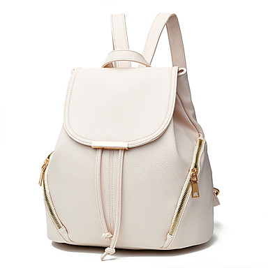Women's Bags PU Backpack for Outdoor Blushing Pink / Dark Blue / Wine