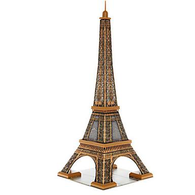 3D építőjátékok Fejtörő Népszerű épület Fa Gyermek Uniszex Ajándék