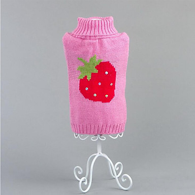 Dog Sweater Dog Clothes Fruit Cotton Costume For Pets Men's / Women's Casual / Daily