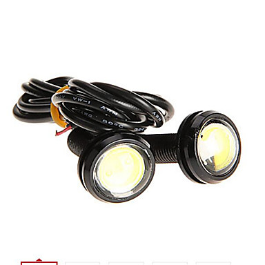 LORCOO 2pcs Motorcycle Light Bulbs 1W 1 Exterior Lights For universal / General Motors / Motorcycles All years