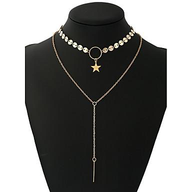 Damen Personalisiert Rock Modisch Halsketten Anhängerketten Ketten Aleación Halsketten Anhängerketten Ketten . Ausgehen Klub Verabredung