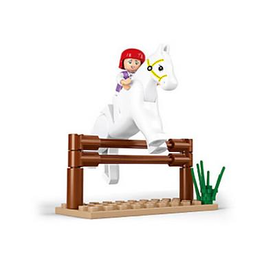 Építőkockák / Építőkocka minifigurák / Szerepjátékok Kastély / Ház / Ló Állatok Lány Ajándék