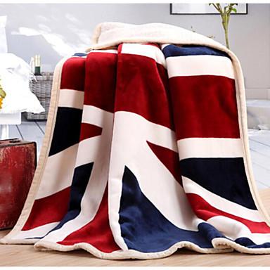 Superweich Nationalflagge Polyester Decken