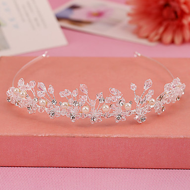 Rhinestone / Alloy Tiaras / Headbands with 1 Wedding / Special Occasion / Birthday Headpiece