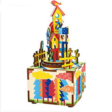 Zenedoboz Ház / Ló / Körhinta Klasszikus DIY / Lakberendezési cikkek Gyermek / Felnőttek / Gyerekek Ajándék Fiú