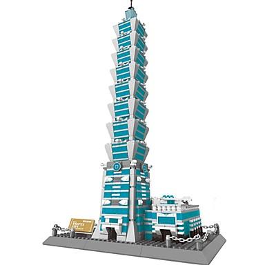 voordelige 3D-puzzels-WANTOY Bouwblokken Modelbouwsets Beroemd gebouw Fun & Whimsical Jongens Meisjes Speeltjes Geschenk
