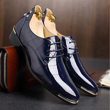 hombre zapatos formales tpu otoño / invierno zapatos de boda negro