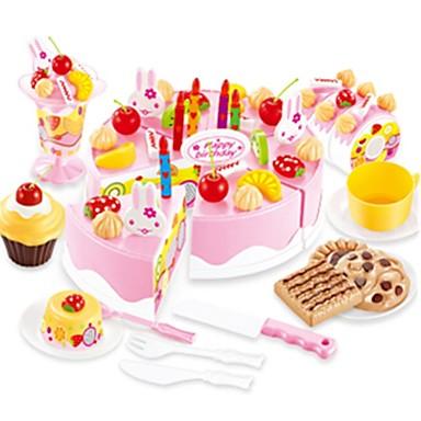 Étel Szerepjátékok Desszert Torta Gyümölcs tettetés Műanyagok Gyermek Ajándék