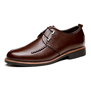 Férfi cipő Bőr Tavasz / Ősz Formai cipő / Kényelmes Félcipők Gyalogló Fekete / Barna
