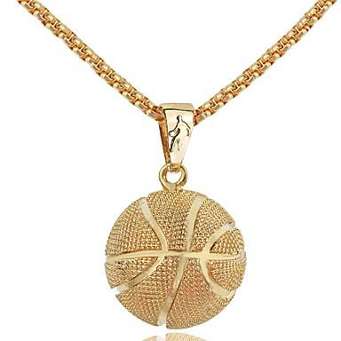 Férfi Luxus Nyaklánc medálok  -  Személyre szabott Luxus Vintage Geometric Shape Arany Ezüst Nyakláncok Kompatibilitás Parti fokozatokra