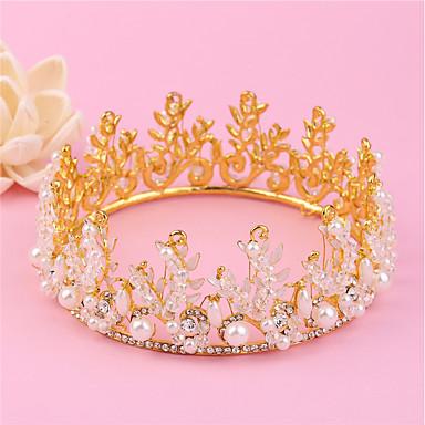 Künstliche Perle Strass Aleación Tiaras Stirnbänder 1 Hochzeit Besondere Anlässe Geburtstag Party / Abend Kopfschmuck