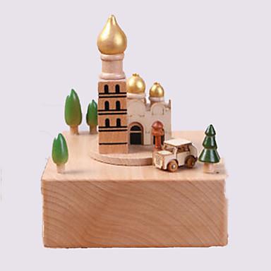 Zenedoboz Ló Templom Körhinta Gyermek Felnőttek Gyerekek Ajándék Uniszex