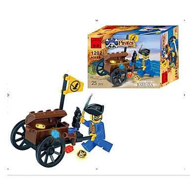 ENLIGHTEN Spielzeug-Autos Bausteine Seeräuber Auto Piraten Jungen Geschenk