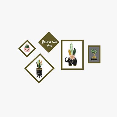 Dekoratív falmatricák - Repülőgép matricák Landscape / Divat / Botanikus Nappali szoba / Hálószoba / Fürdőszoba