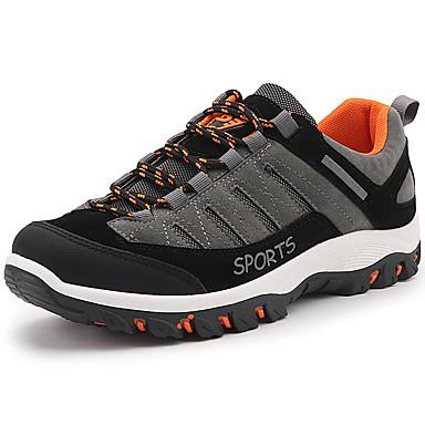 للرجال أحذية اصطناعي خريف / شتاء مريح أحذية رياضية الركض الطويل أسود / رمادي / بني فاتح