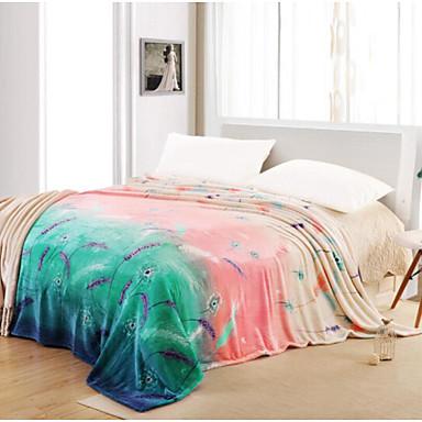 Superweich Pflanzen Polyester Decken
