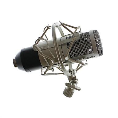 BM-8005 Vezetékes Mikrofon Kondenzátormikrofon Kézi mikrofon Kompatibilitás PC