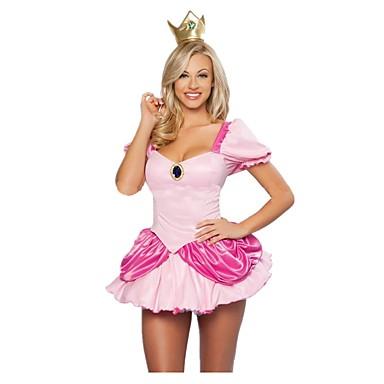 Prinzessin Märchen Cosplay Einteilig/Kleid Frau Unisex Halloween Karneval Fest/Feiertage Halloween Kostüme Vintage
