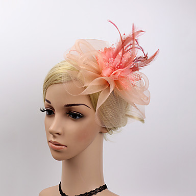 Plastic Fascinators / Flowers with 1 Wedding / Special Occasion / Party / Evening Headpiece