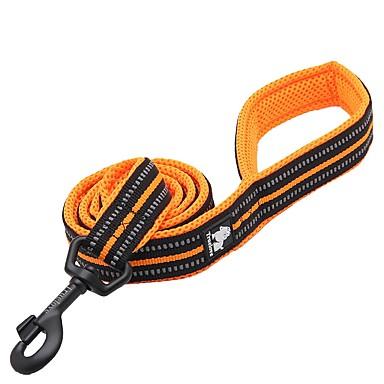 Dog Leash Reflective / Breathable / Anti-Slip Solid Colored Polyester / Nylon Yellow / Fuchsia / Blue