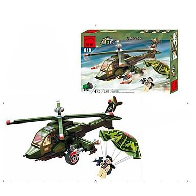 ENLIGHTEN Bausteine Minifiguren aus Blockbausteinen Helikopter Helikopter Geschenk