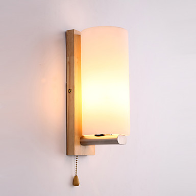 Einfach LED Neuheit Wandlampen Für Holz / Bambus Wandleuchte 220v 5W