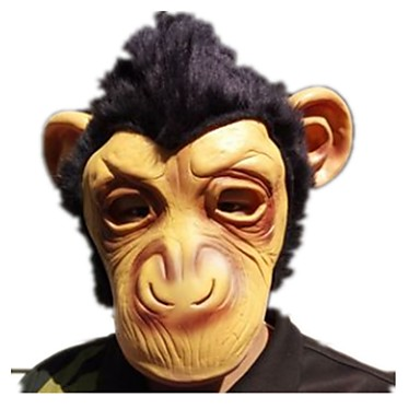 Halloween Mask / Animal Mask Monkey / Horror Glue Pieces Unisex Adults' Gift