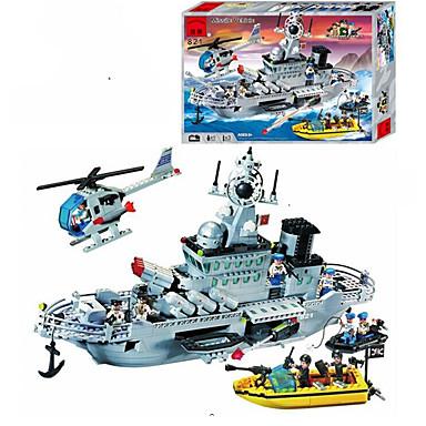 ENLIGHTEN Bausteine Minifiguren aus Blockbausteinen Schiff Fun & Whimsical Geschenk