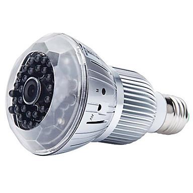1080p intelligens otthoni IP kamera e27 led izzó lámpa mozgásérzékelés pc tablet telefonhoz