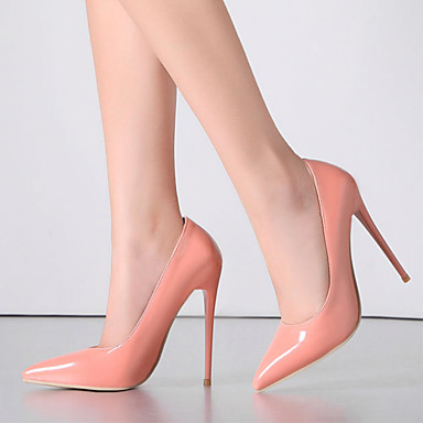 Talons à Nouveauté Chaussures 06328683 Confort Mariage Automne Amande Bout Chaussures pointu Printemps Femme Cuir Rouge Rose wBxq8ax