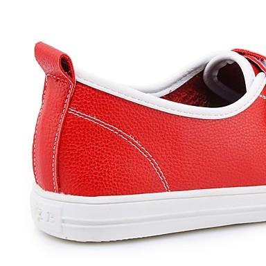 Printemps Chaussures Femme Automne Talon d'Athlétisme Bout boucle 06195082 rond Chausson Berceau Chaussures de La Plat Confort du Similicuir xwHqSHF