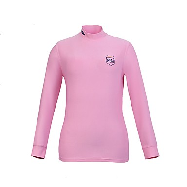 Unisex Long Sleeve Golf Top Fast Dry / Breathability Golf Outdoor